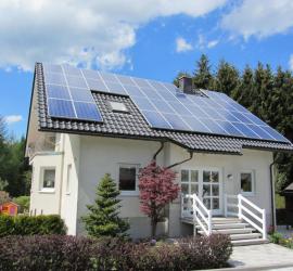 Energia solar casas rurales