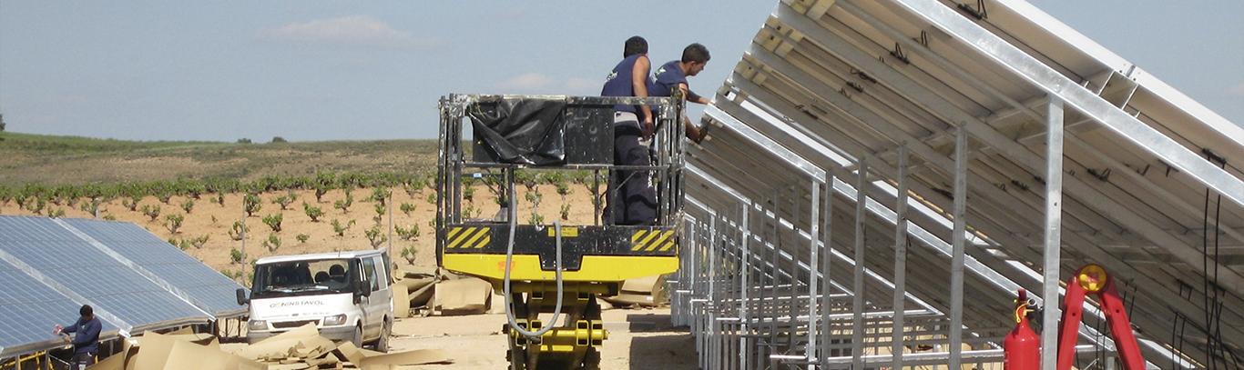 Instalaciones de plantas energia solar